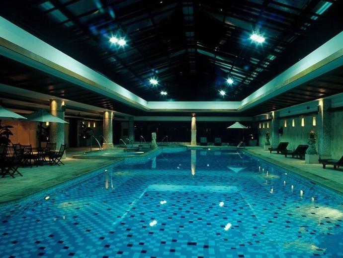 游泳池三维立体效果图-水循环工程