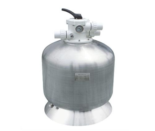 沙缸-AQUA爱克不锈钢侧式过滤器AQSS 泳池设备 泳池过滤沙缸
