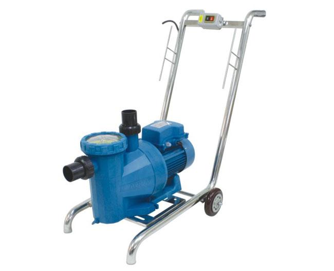 泳池清洁设备-AQUA 可拆卸式不锈钢吸污车型号:AQ-9091