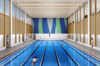 室内恒温泳池|成都天立学校案例分享