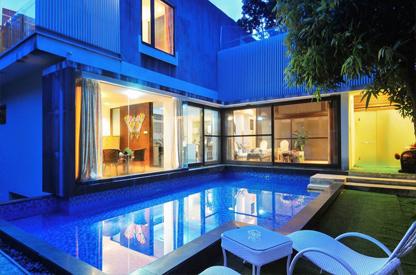 三亚三山半岛别墅室外游泳池