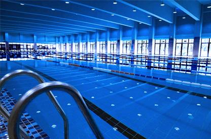 恒温国际标准游泳池/海口恩祥地产北大附小游泳馆