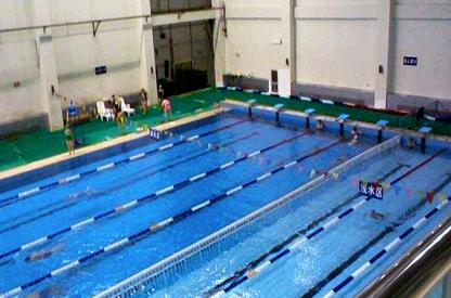 西藏拉萨某党校体育服务综合楼室内泳池