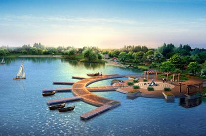 重庆院庆恒大金碧天下-景观水景工程案例分享